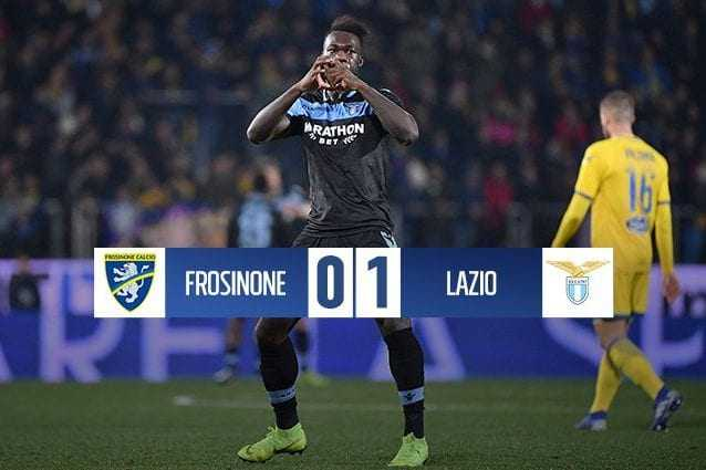 Le formazioni di Frosinone–Lazio. (sofascore.com)