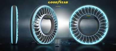 De Goodyear AERO – een conceptband voor autonome, vliegende auto's
