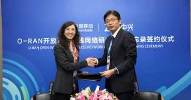 ZTE y el Instituto de Investigación de China Mobile firman un MoU sobre la O-RAN inteligente