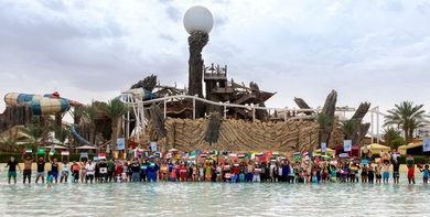 Yas Waterworld Earns Guinness World Records Title for 'Most Nationalities in a Swimming Pool'